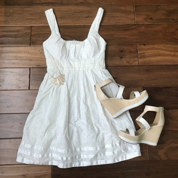 Judi Kristopher Dresses & Skirts - White Floral Sundress